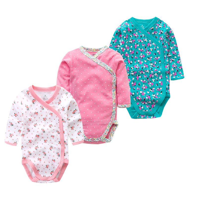 Times 'Сүйікті 3PCS / lot 100% мақта Baby Bodysuit - Балаларға арналған киім - фото 1