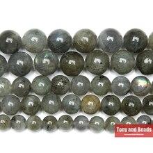 """Натуральный камень класса АА голубой лабрадорит Круглые бусины 1"""" нить 4 6 8 10 12 мм выбрать размер для ювелирных изделий SAB15"""