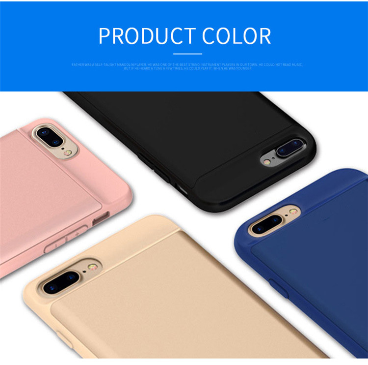 Cell Phone - Battery Case For iphone 6 6s 7 8 2500/3700/5000/7000mah Power Bank Charing Case For iphone
