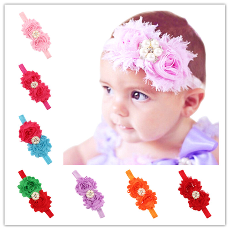 new girls turbante wraps kids braided twisted shabby headband elastic for hair head bands wraps headbands accessories