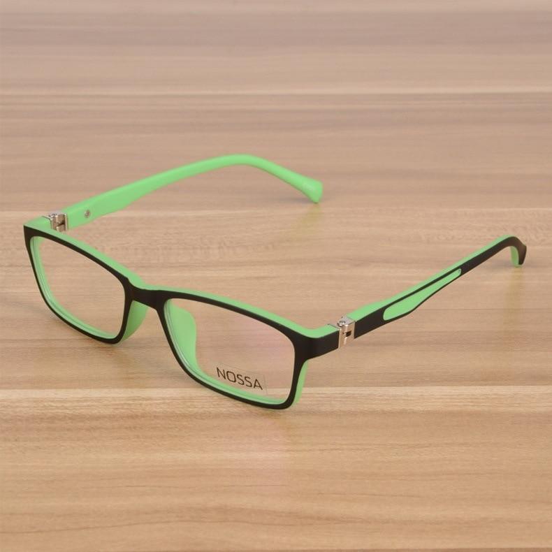 Kids Eyeglasses Barn Unbreakable TR90 Glasses Frame Optiska - Kläder tillbehör - Foto 2