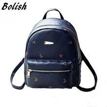 Bolish Мода с принтом фруктов Для женщин женский рюкзак Колледж школьные сумки для подростков Mochila Рюкзак Путешествия Рюкзак