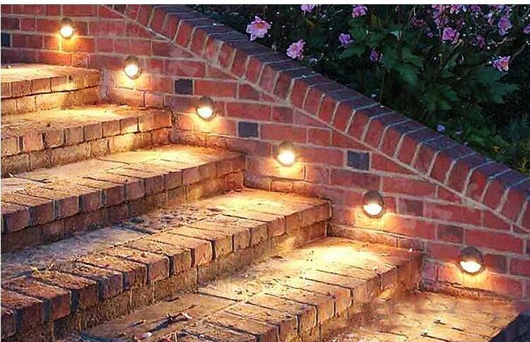 Iluminação para Jardim Quintal Passo Escadas Piso