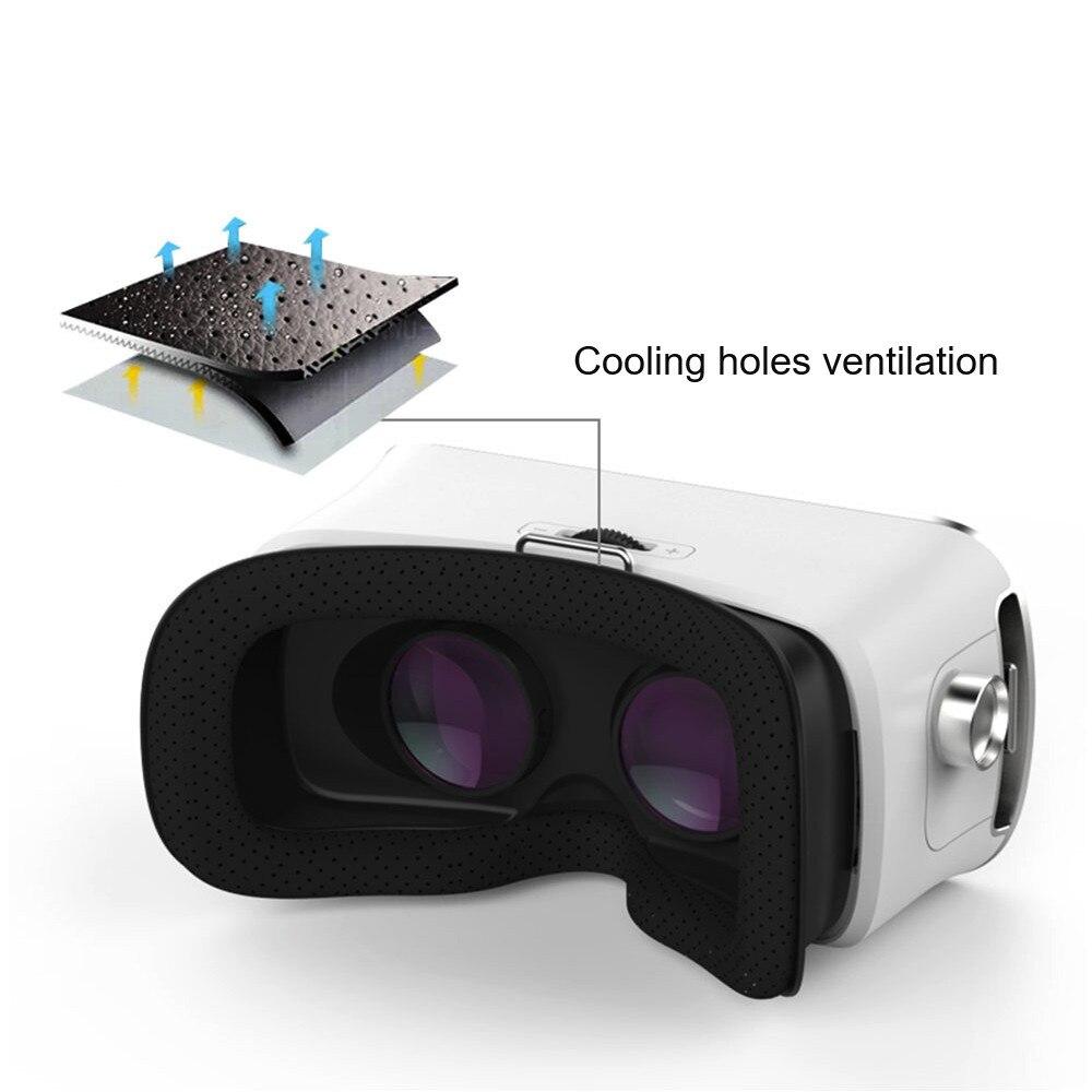 CARPRIE 3D Glasses Vritual Reality Shinecon Headset VR Glasses Helmet 3D Box For Smartphones With Controller VR/AR Glasses DE19