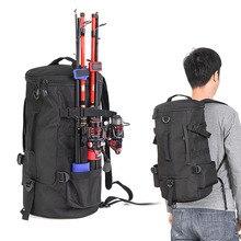 23L Men Women Multifunctional Fishing Tackle Bags Outdoor Backpack Trekking Single Shoulder Crossbody