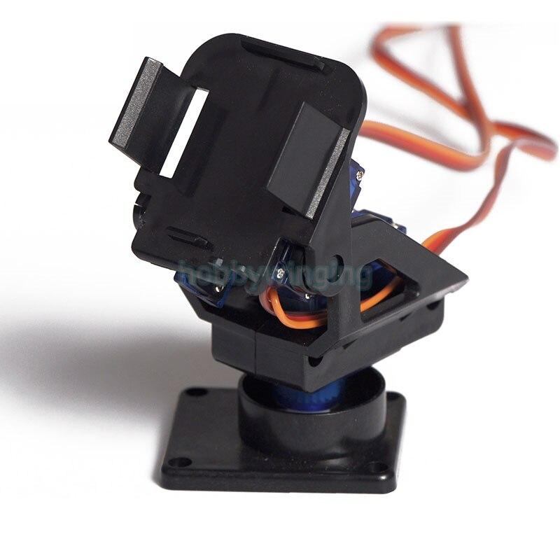 PT Pan/Tilt Camera Platform Anti-Vibration Camera Mount with 2 pcs 9g Servos for Aircraft FPV