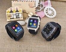 Reloj inteligente Android WiFi + GPS + SIM + 3 G + GSM / podómetro + Monitor de ritmo cardíaco opciones Android reloj teléfono reloj de pulsera