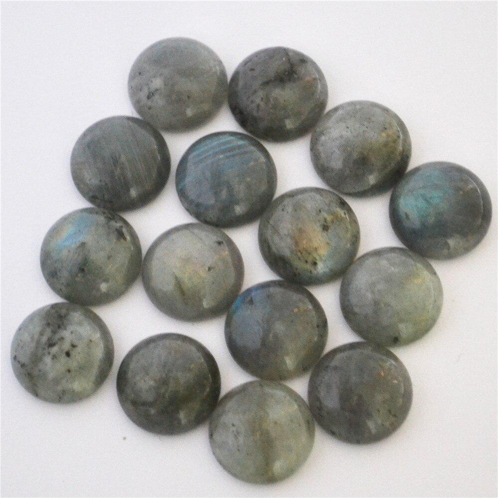 Fashion Really Natural Stone Moonlight Moon Round CAB CABOCHON Wholesale Stone Beads Free Shipping 20Pcs/Lot 16mmx16mm