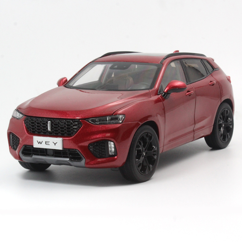 1:18 Diecast Model For Great Wall WEY VV7 2017 SUV Alloy Toy Car Miniature Collection Gifts China Brand
