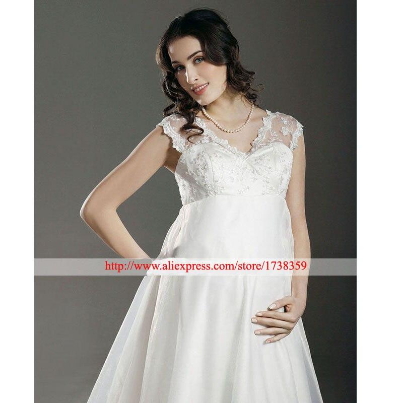 Свадебное платье на большой живот