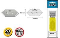 OLFA MCB 1 5 blades mat cutter Other Utilities Blade cutting MC 45 Genuine for MC 45 MC 45/2B MC 45/DX