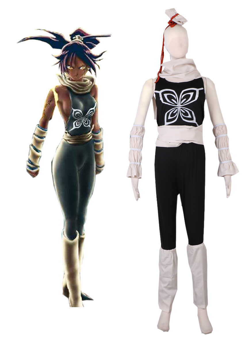 New Death Bleach Shihouin Yoruichi Cosplay Costume Customize For Unisex Any Size