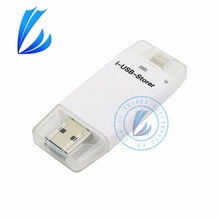 Ll трейдер для ios android я-flash drive iphone otg usb flash drive device memory stick 16/32/64 г для ipad ipod ios android mac