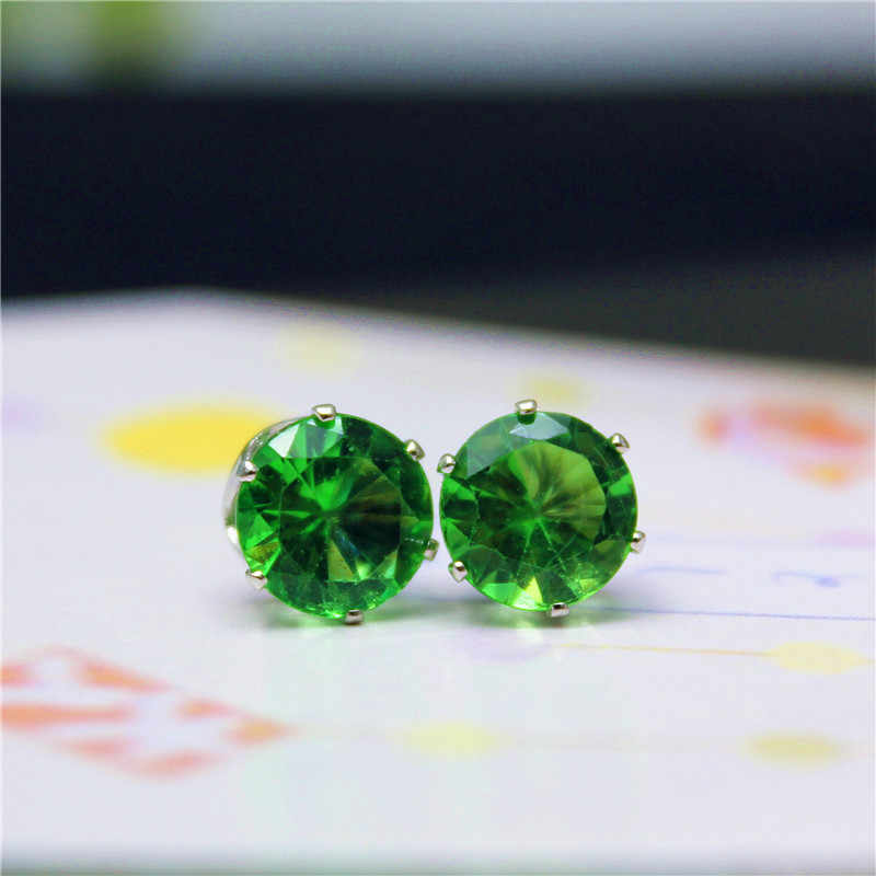 14 cores Moda Jóias de Luxo Cristal Austríaco Para As Mulheres Venda Quente Cor Prata Ear Jóias Melhores Amigos Presente frete grátis