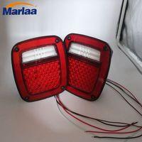 LED Tail Light Set For 76 06 Jeep Wrangler CJ7 CJ8 YJ TJ LJ