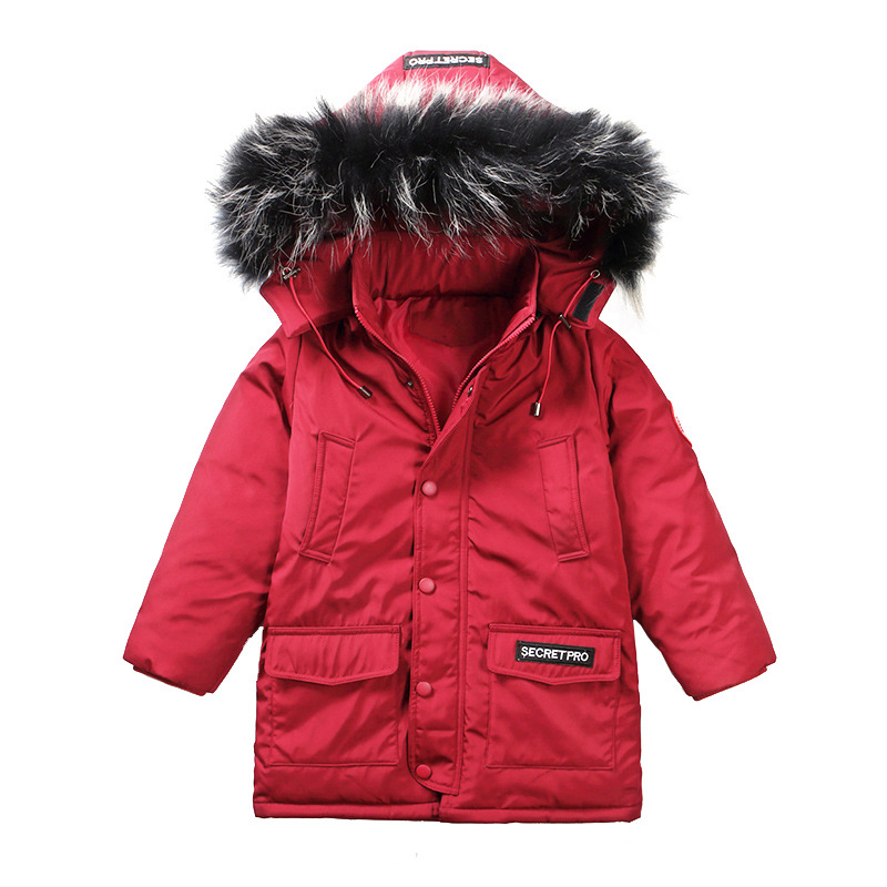 Children Outerwear Baby Boys Parka Winter Jackets Coats 2017 Joker Zipper Hooded Thick Warm Kids Overcoat Cotton-padded Clothes korean baby girls parkas 2017 winter children clothing thick outerwear casual coats kids clothes thicken cotton padded warm coat