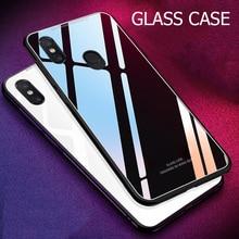 Xiaomi Redmi Note 5 Case Luxury Tempered Glass