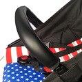 Tampa do carrinho de bebê Carrinho De Criança Acessórios yoya Yuyu Carrinho De Bebê Braço Pu Tampa Da Caixa de Proteção Para O Braço de Cobre Lidar Com Cadeiras de Rodas