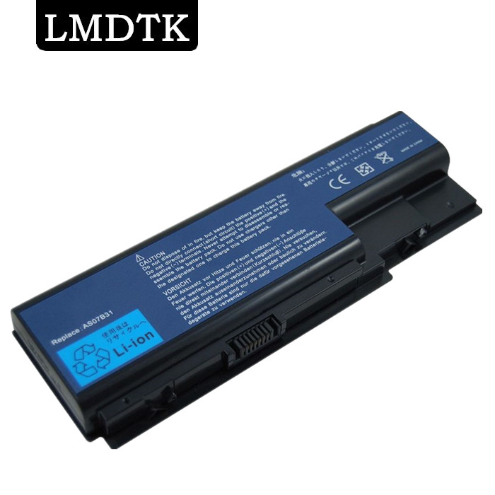 LMDTK New 8 cells laptop battery FOR Aspire 6920-6422 5940G 7320 7535 8942G 8940G 7738G 736ZG 7540G free shipping image