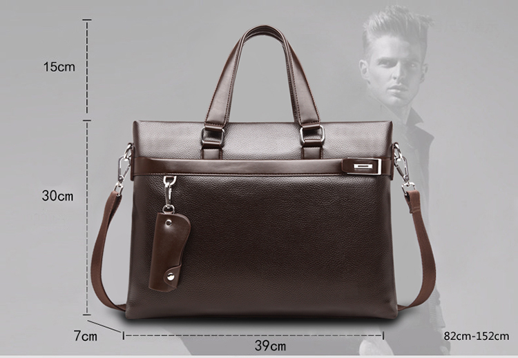HTB1IkMVqfiSBuNkSnhJq6zDcpXad Promotions 2019 New Fashion Bag Men Briefcase PU Leather Men Bags Business Brand Male Briefcases Handbags Wholesale High Quality