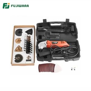 FUJIWARA 46 шт Осциллирующий мульти-инструменты 6-Скоростной 220В 50Гц Электрический многофункциональный станок триммер для резки