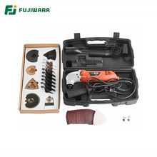 FUJIWARA 46pcs Oscillating Multi-Tools 6-Speed 220V 50HZ Electric Multifunction Machine Trimmer Cutting Machine