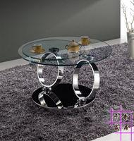 Rotating 360 Degrees Creative Stainless Steel Tea Table The Sitting Room Tea Table