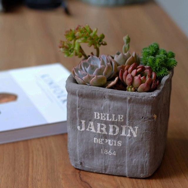 Rough finish ceramic flower pots vintage design flower pots ...