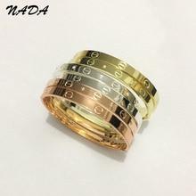 Trendy Crystal Rose Gold Silver Bracelet for Women Bangle Lover Bracelet Jewelry Titanium Love Bracelet Bangle Pulseiras B17008