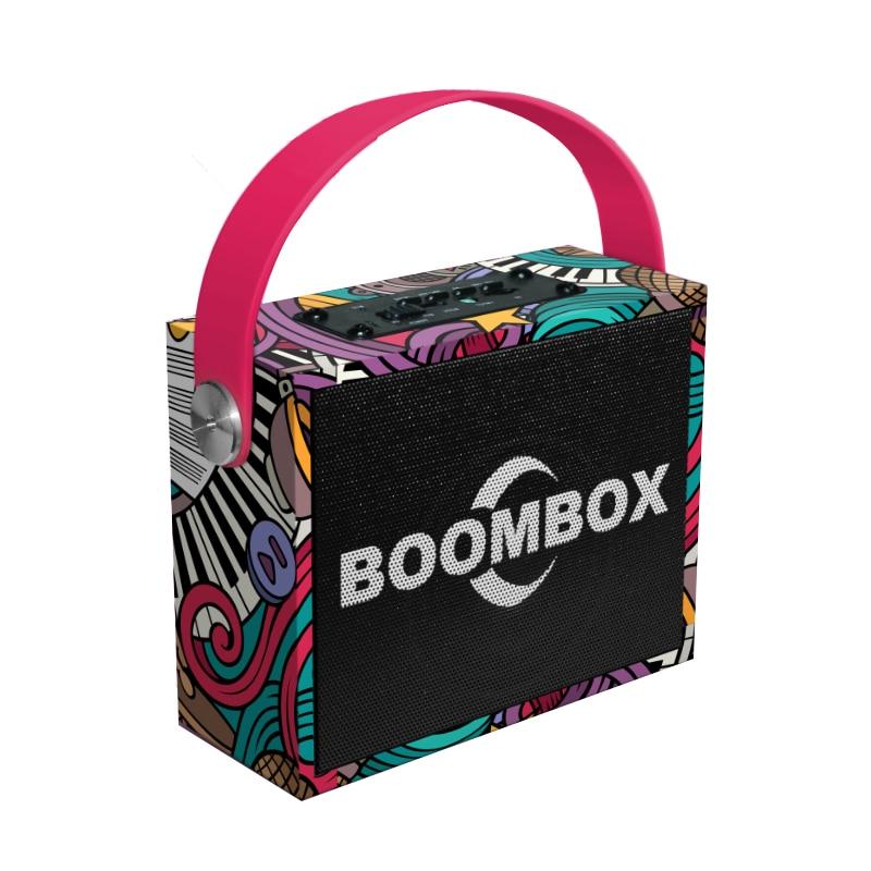 Portable Bluetooth speaker Portable Wireless Loudspeaker Sound System 10W stereo Music surround Boombox Outdoor Speaker qi charger boombox mini hifi music micro system alarm clock radio bluetooth music box passive radiator speaker for music