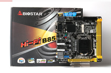 Новый оригинальной аутентичной компьютерные платы для Biostar ПРИВЕТ-FI B85N 3D ITX HTPC материнская плата WIFI двойной карточки
