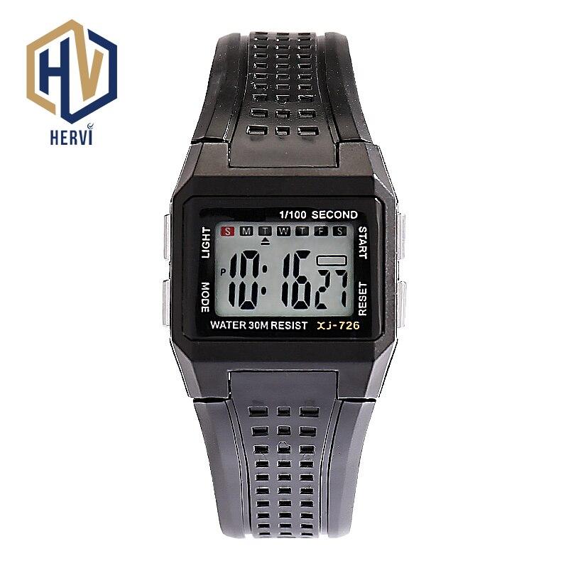Male Digital Watch Electronic Automatic Sport 30M Waterproof Wrist Watches H726-B