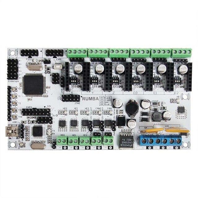 Geeetech Impresora 3d Tarjeta de Control Junta Rumba basado en Procesador ATmega's'AVR