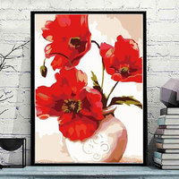 Framless Picture Painting By Numbers DIY Digital Canvas Oil Painting Home Decor For Living Room Wall