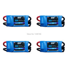 4pcs DYS Simonk 30A Brushless Speed Controller ESC for Helicopter Multirotor