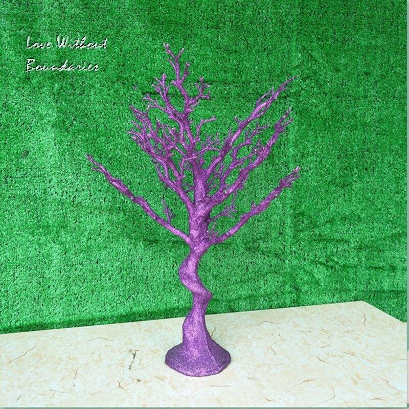 Simulación, árbol de Navidad blanco, rama de tallo, tronco, resina de protección del medio ambiente, 8 colores pueden elegir - 3