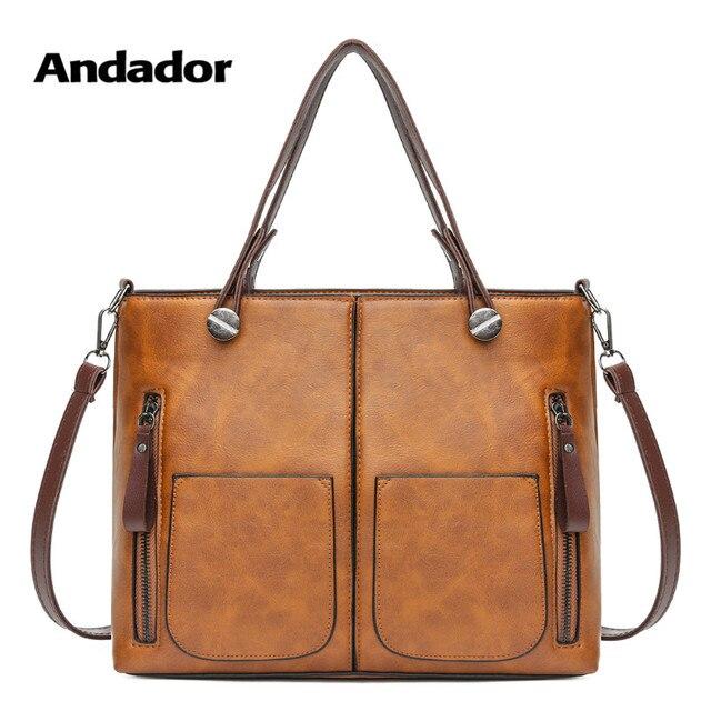 Винтаж для женщин сумка большой ёмкость сумка через плечо из ПУ versatial модные женские сумки Высокое качество повседневное курьерские Сумки
