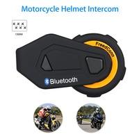 2019 New Freedconn T MAX Motorcycle Headset 8 Riders Communication 1000m Motorbike Helmet Group Intercom FM Radio Bluetooth 4.1