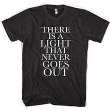 Los Smiths Morrissey hay una luz Unisex camiseta todos los tamaños colores  nuevas camisetas divertidas Tops 17e39bedc7fb4