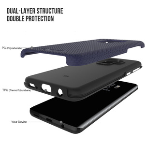 Image 2 - TOIKO X Guard 2 in 1 Phone Cases for Samsung Galaxy S9 Shockproof Hard PC Soft TPU Bumper Shell Cover Protective Hybrid Armor