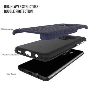 Image 2 - TOIKO X Guard 2 w 1 etui na telefony do Samsung Galaxy S9 odporny na wstrząsy twardy PC miękki TPU zderzak Shell Cover ochronny hybrydowy pancerz