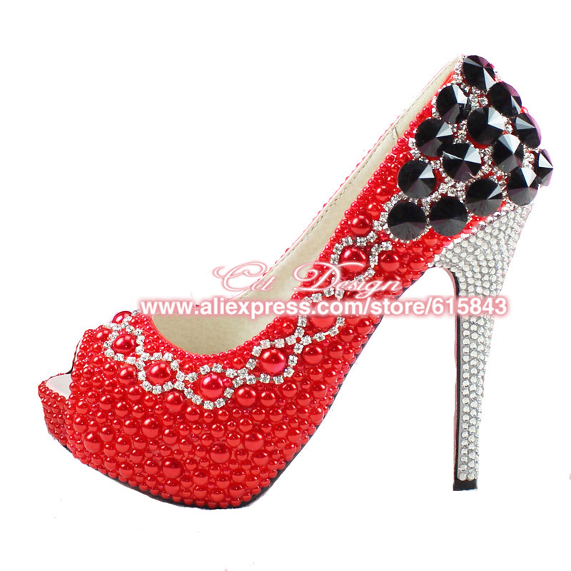 Red Sparkly Heels | Fs Heel