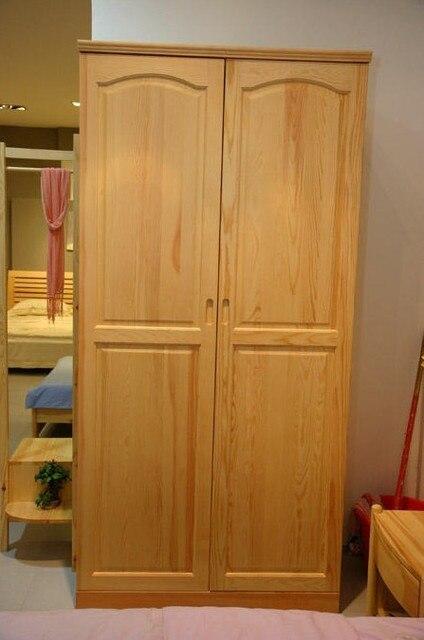 Muebles de madera de pino tablas de pino dos armario ropero de ...