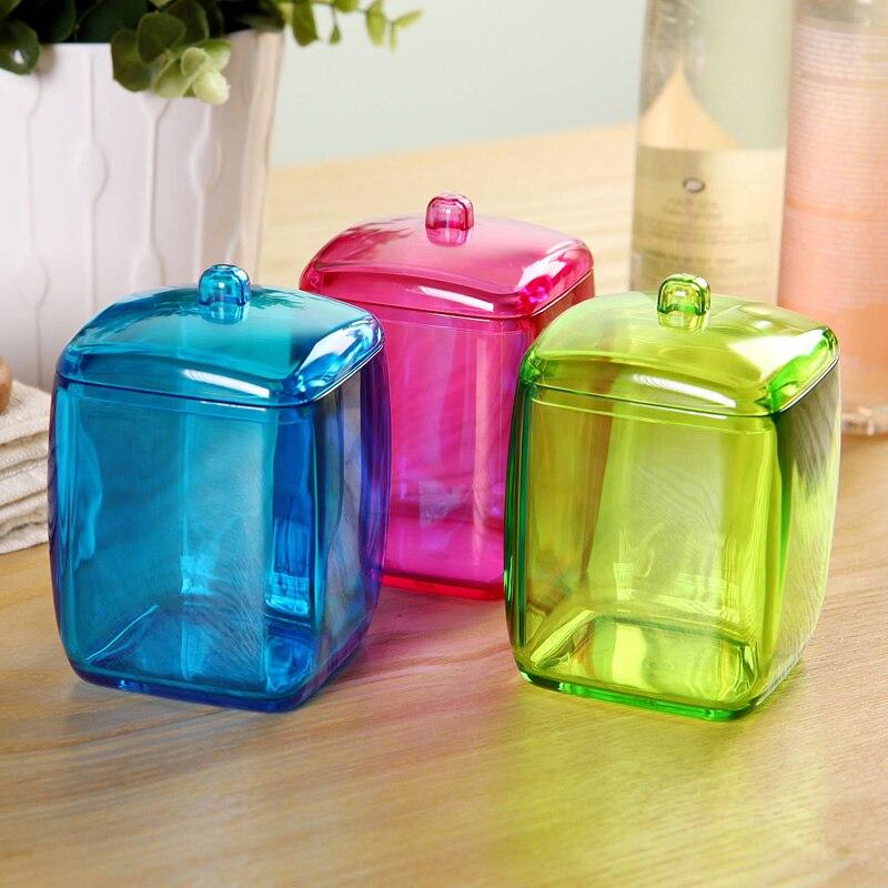 Nice ORZ New Design Colorful Cotton Swab Box Q Tip Storage Holder Cosmetic  Makeup Tool Women Storage Box Jewelry Box In Storage Boxes U0026 Bins From Home  U0026 Garden ...