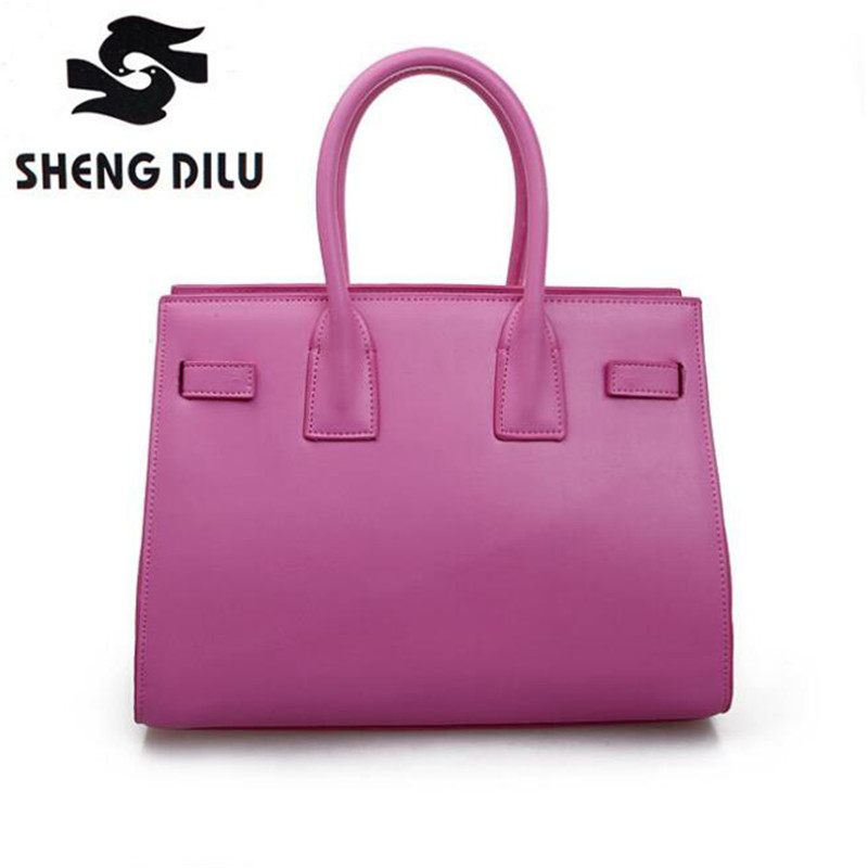 Designer Genuine Leather Bags Ladies Famous Brand Women Handbags High Quality Tote Bag for Women Fashion Hobos Bolsos