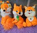 Русский язык песни петь плюшевые фокс мягкие куклы, Электронные игрушки для детей, Интеллектуальной русский той день рождения рождественский подарок