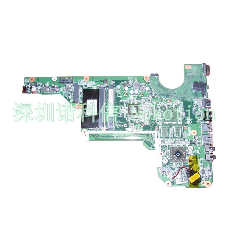 DA0R52MB6E0 697230-001 697230-501 For HP Pavilion G4 G6 G4-2000 G6-2000 Laptop motherboard CPU onboard DDR3  free shipping 683030 001 683030 501 for hp pavilion g4 g6 g4 2000 g7 g6 2000 motherboard r53 da0r53mb6e0 da0r53mb6e1