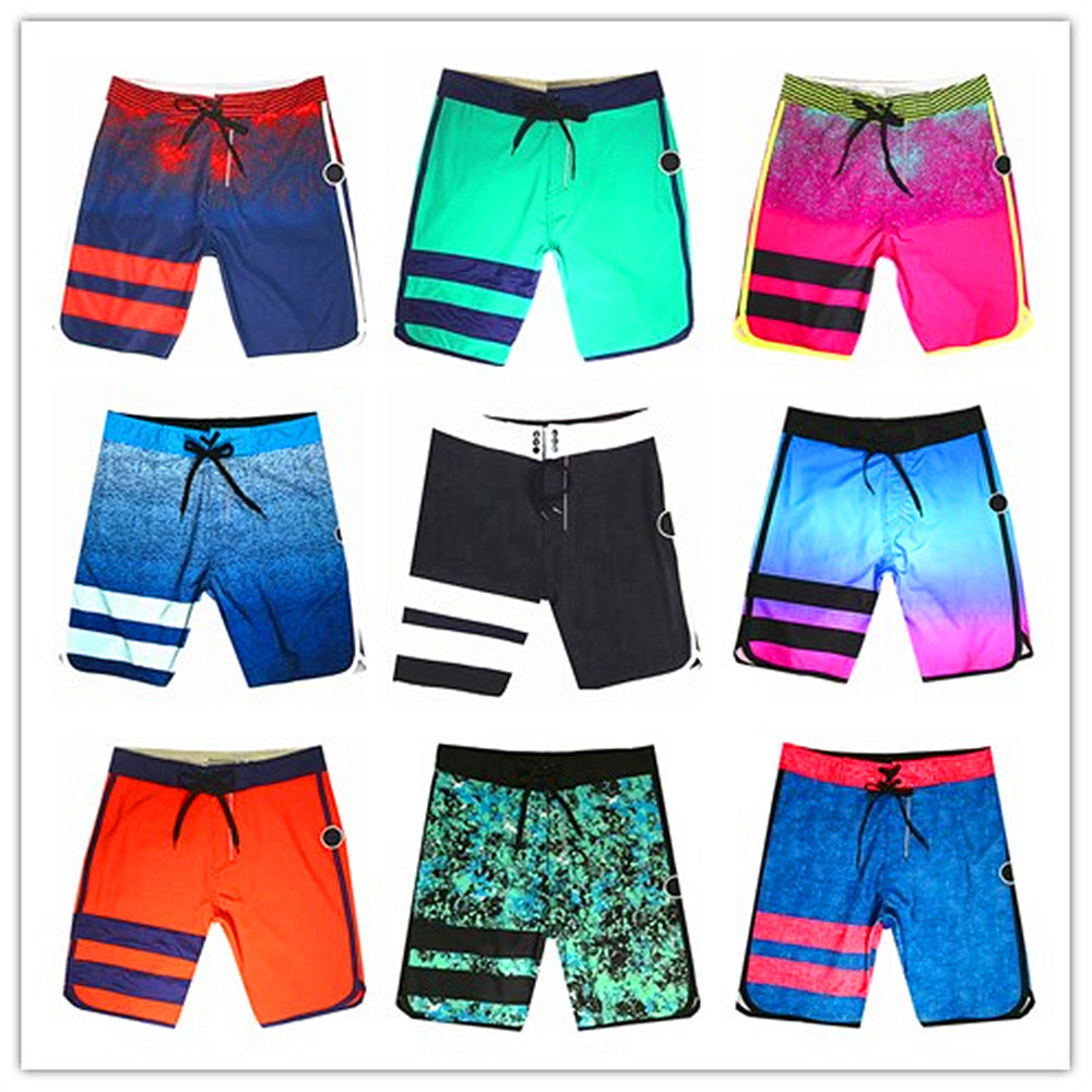 Hot 2019 Brand Fashion Phantom Elastic Beach   Board     Shorts   Men Swimwear Bermuda Masculina Men's Boardshorts Superflex Activewear
