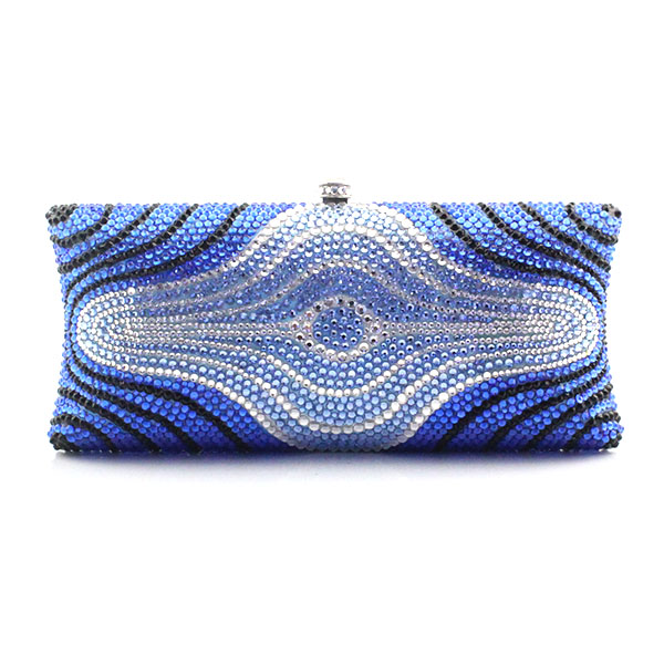 New arrival ladies blue crystal evening bag crystal pearl chain clutch bags high quality diamond wedding shoulder bag(1007-BR) finger ring rhinestone clutch women bags evening bags crystal diamond feast bags high quality girls shoulder bag handbag wy104