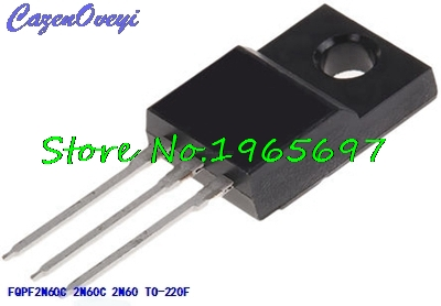 10pcs/lot FQPF2N60C <font><b>2N60C</b></font> 2N60 600V 2A TO-220F new original In Stock image